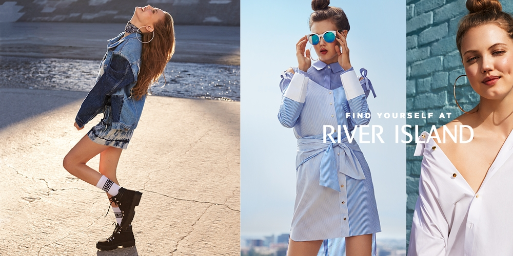 River Island's new campaign says 'there's only one you'